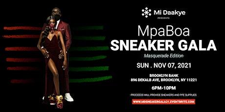 The MpaBoa 'Sneaker' Gala - Masquerade Edition 11.07.2021 tickets