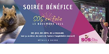 Soirée Bénéfice SOS Miss Dolittle- Centre d'aide pour animaux sauvages billets