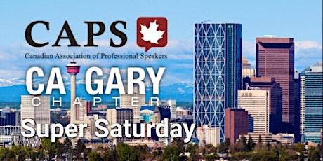 CAPS Calgary October Super Saturday Online Registration tickets