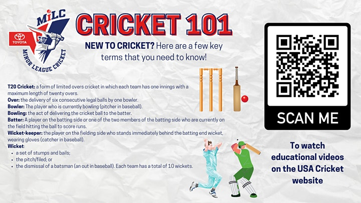 Minor League Cricket - Finals Weekend Celebration image