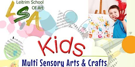 Kids 4-6yrs, Multi Sensory Arts and Crafts. November  Saturdays, 10-11:30am tickets