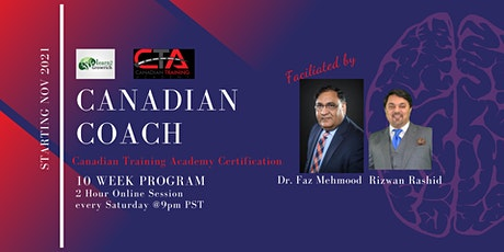 Canadian Coach Certification tickets