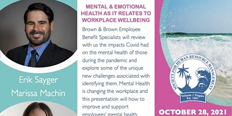 Mental & Emotional Health as it Relates to Workplace Wellbeing tickets