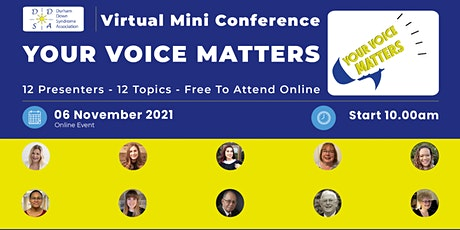 DDSA Mini-Conference: Your Voice Matters tickets