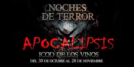 NOCHES DE TERROR  -  DOMINGO 28 DE NOVIEMBRE 2021 entradas