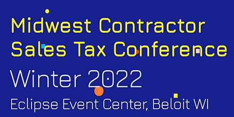Midwest Contractor Sales Tax Conference tickets