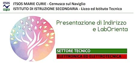 ITSOS Marie Curie -  ELETTRONICO - PRESENTAZIONE e LabOrienta biglietti