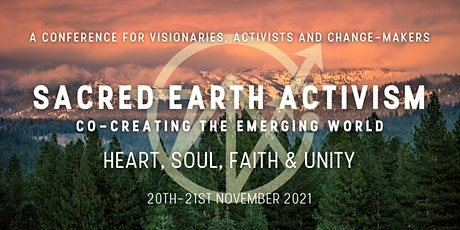 Sacred Earth Activism: Co-Creating the Emerging World tickets