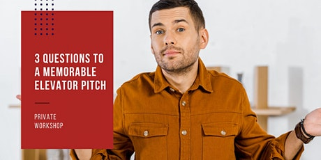 3 Questions to a Powerful Elevator Pitch tickets