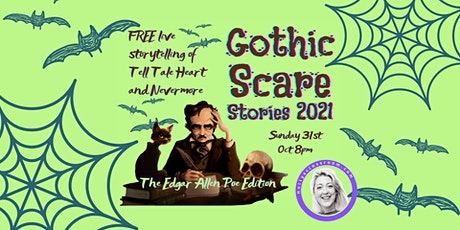 Gothic Scare Stories 2021: Live Storytelling tickets