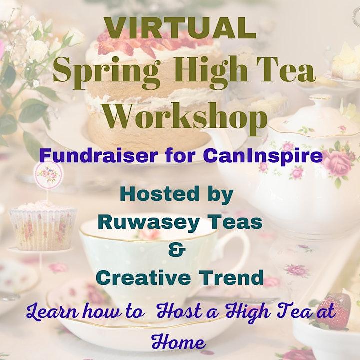 Spring High Tea Workshop-Fundraiser for CanInspire image