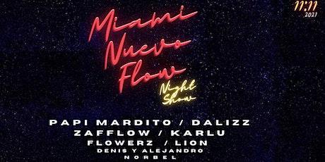 MIAMI NUEVO FLOW tickets