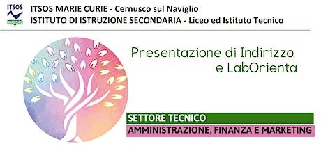ITSOS Marie Curie - AMMINISTRATIVO - PRESENTAZIONE e LabOrienta biglietti
