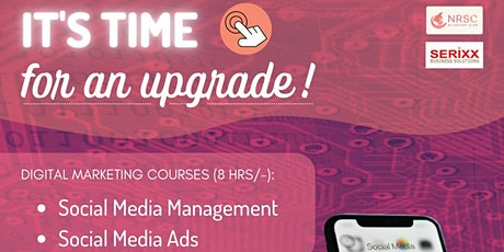 Digital Marketing Courses to Build Your Brand on Social Media tickets