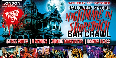 Nightmare in Shoreditch // London's Biggest Halloween Bar Crawl tickets