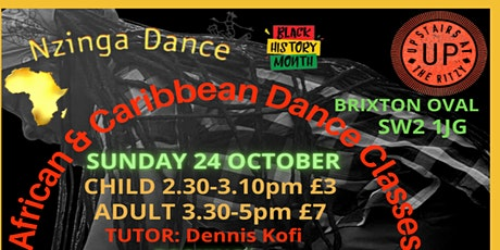 Black History Month - Nzinga Dance - African & Caribbean Dance Workshops tickets