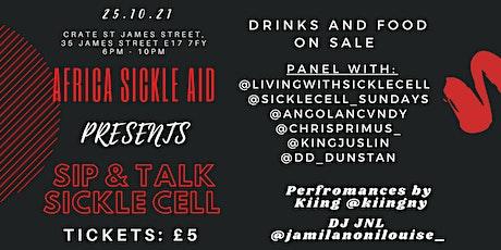 SIP & TALK SICKLE CELL tickets