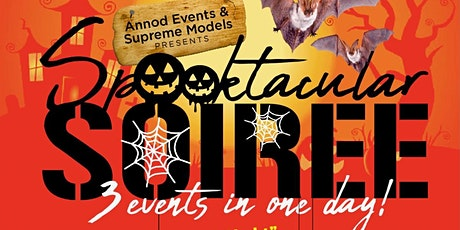 Spooktacular Soiree 3 Events in one day tickets
