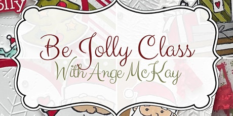 Be Jolly Christmas Card Class tickets