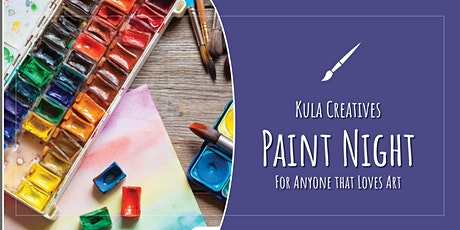 Kula Creatives: A Free Monthly Paint Night tickets