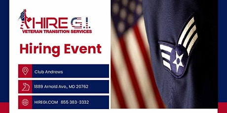 Andrews AFB  Hiring Event - June 2022 tickets