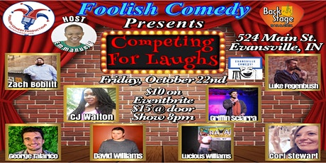 Competing for Laughs (October) tickets