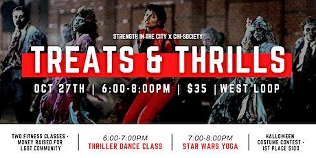 Treats & Thrills | Dance & Yoga Class tickets