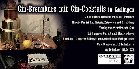 Gin-Brennkurs in Esslingen bei Stuttgart Tickets