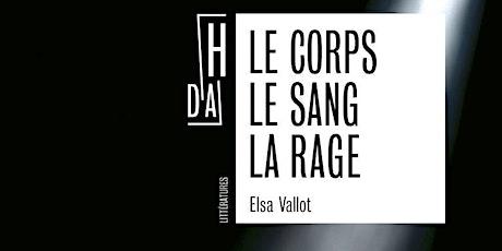 Rencontre - Dédicace avec Elsa Vallot billets