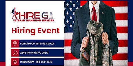 Fort Bragg Hiring Event - July 2022 tickets