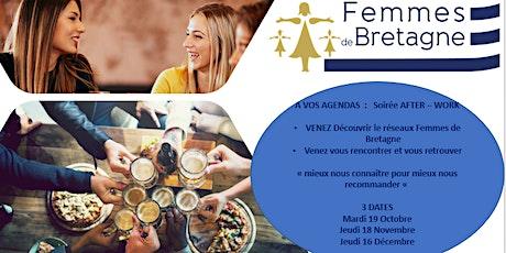 AFTER - WORK -Venez Découvrir  Femmes de Bretagne et vous retrouver billets