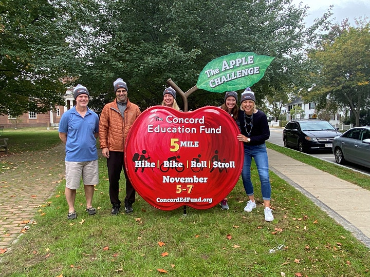 Concord Education Fund 2021 Apple Challenge (Hike, Bike, Roll, Stroll) image