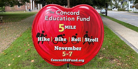 Concord Education Fund 2021 Apple Challenge (Hike, Bike, Roll, Stroll) tickets