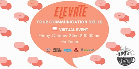 Elevate Your Communication Skills tickets