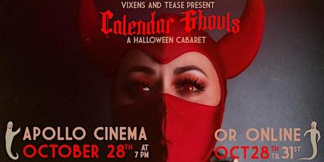CALENDAR GHOULS: A Halloween Cabaret tickets