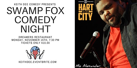 Swamp Fox Comedy Night with Mo Alexander tickets