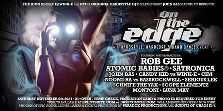 On The Edge (A Hardstyle & Hardcore Event) tickets