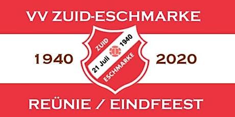 Reünie 80 jaar Zuid-Eschmarke Tickets