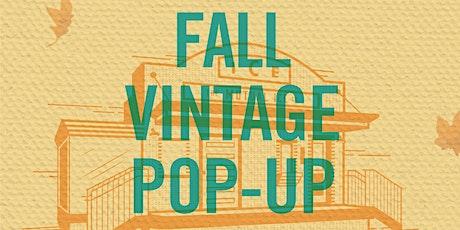 Fall Vintage Pop-Up Market tickets