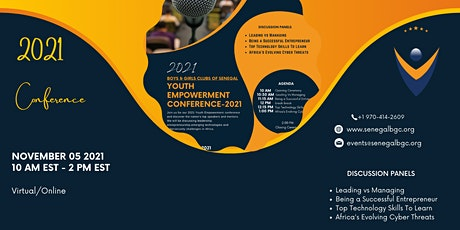 Youth Empowerment Conference  2021 (EDUCATE/ EMPOWER) tickets