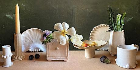 Ceramics at Water Lane - How to use the Japanese method 'Kurinuki' tickets