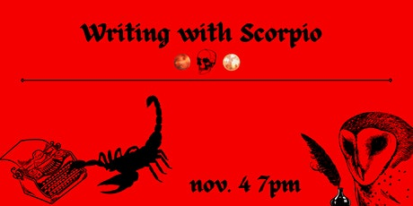 Writing with Scorpio Workshop tickets