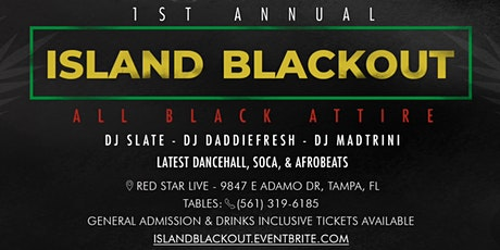 1st Annual Island BlackOut tickets