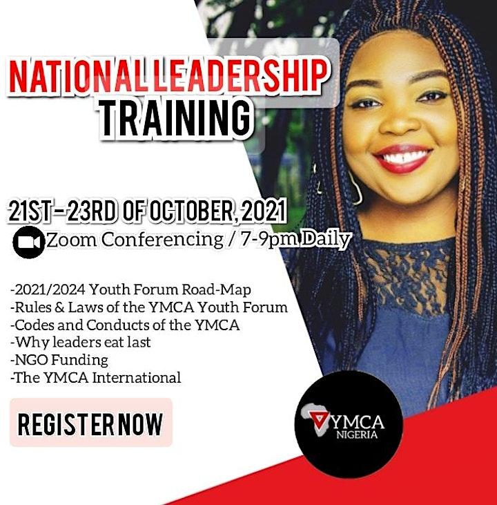 YMCA NIGERIA NATIONAL LEADERSHIP TRAINING image