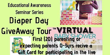 Diaper Day GiveAway Tour™️~ Virtual Outreach For  South Carolina Families biglietti