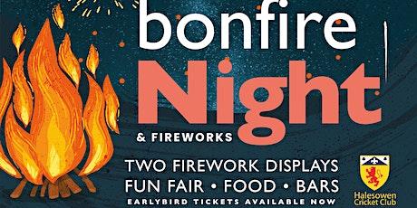Halesowen Cricket Club Bonfire & Fireworks 2021 billets