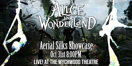 Halloween Aerial Silks Alice in Wonderland tickets