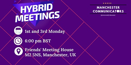Public Speaking and Leadership with Manchester Communicators (In Person) tickets
