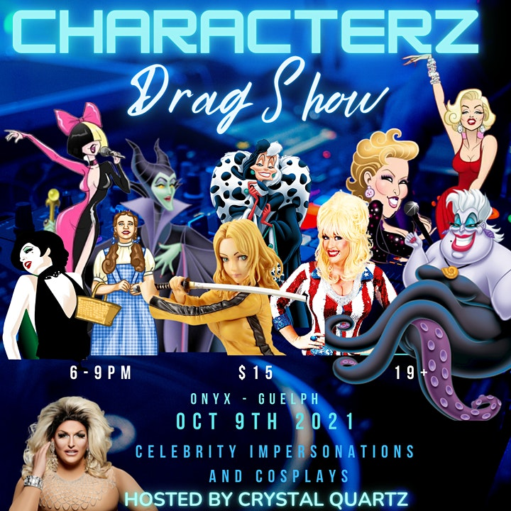 Characterz- Impersonation and Cosplay Drag Show image