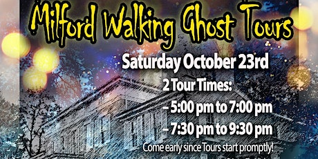 Milford Walking Ghost Tours tickets